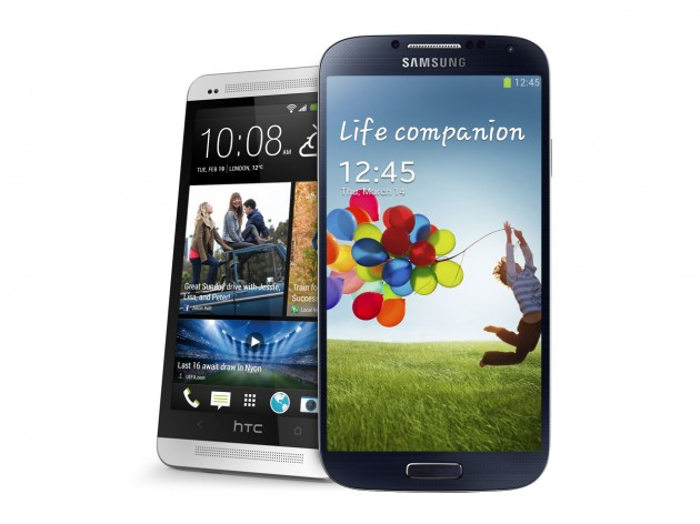HTC One Gets Three Points Against Samsung Galaxy S4