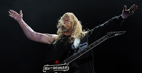Pioneering Heavy Metal Guitarist Jeff Hanneman Passes Away At 49