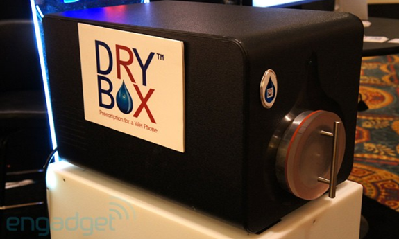 DryBox Can Save Your Phone From A Watery Grave
