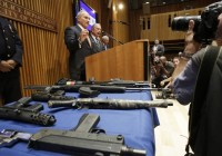 New York City Police Seize Over 250 Street Firearms