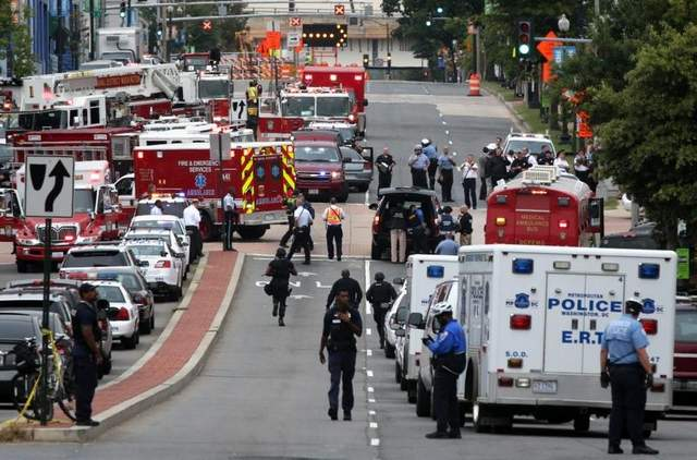 12 Dead, Several Injured In D.C Navy Yard Rampage, Shooter Among The Dead