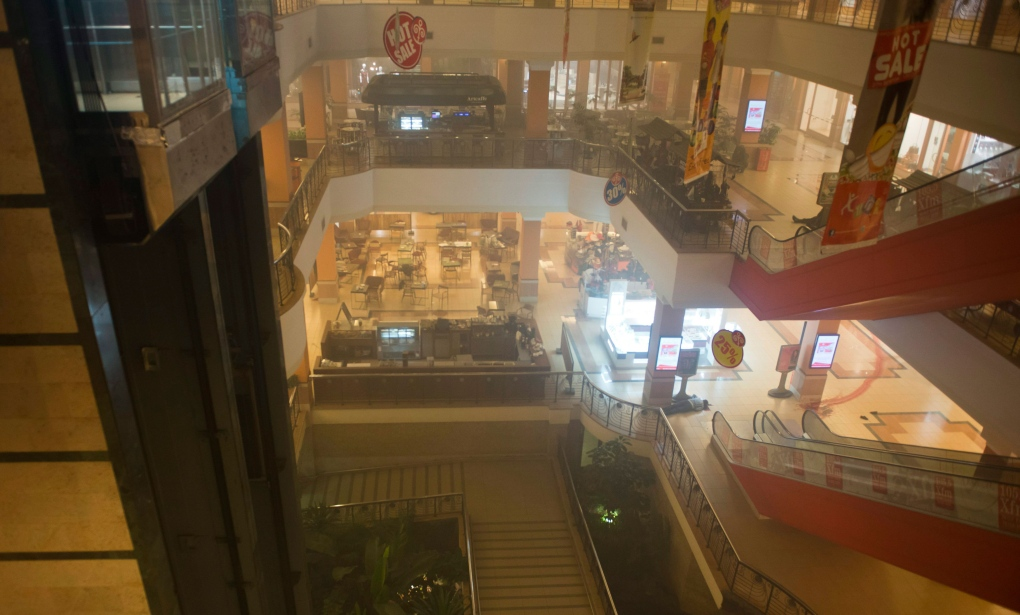 Inside the Westgate Mall
