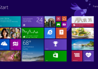 Windows 8.1 tile interface
