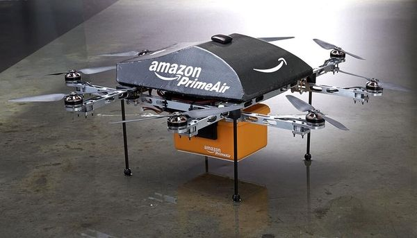 The Next Big Step For Amazon? The Skies Via Drones