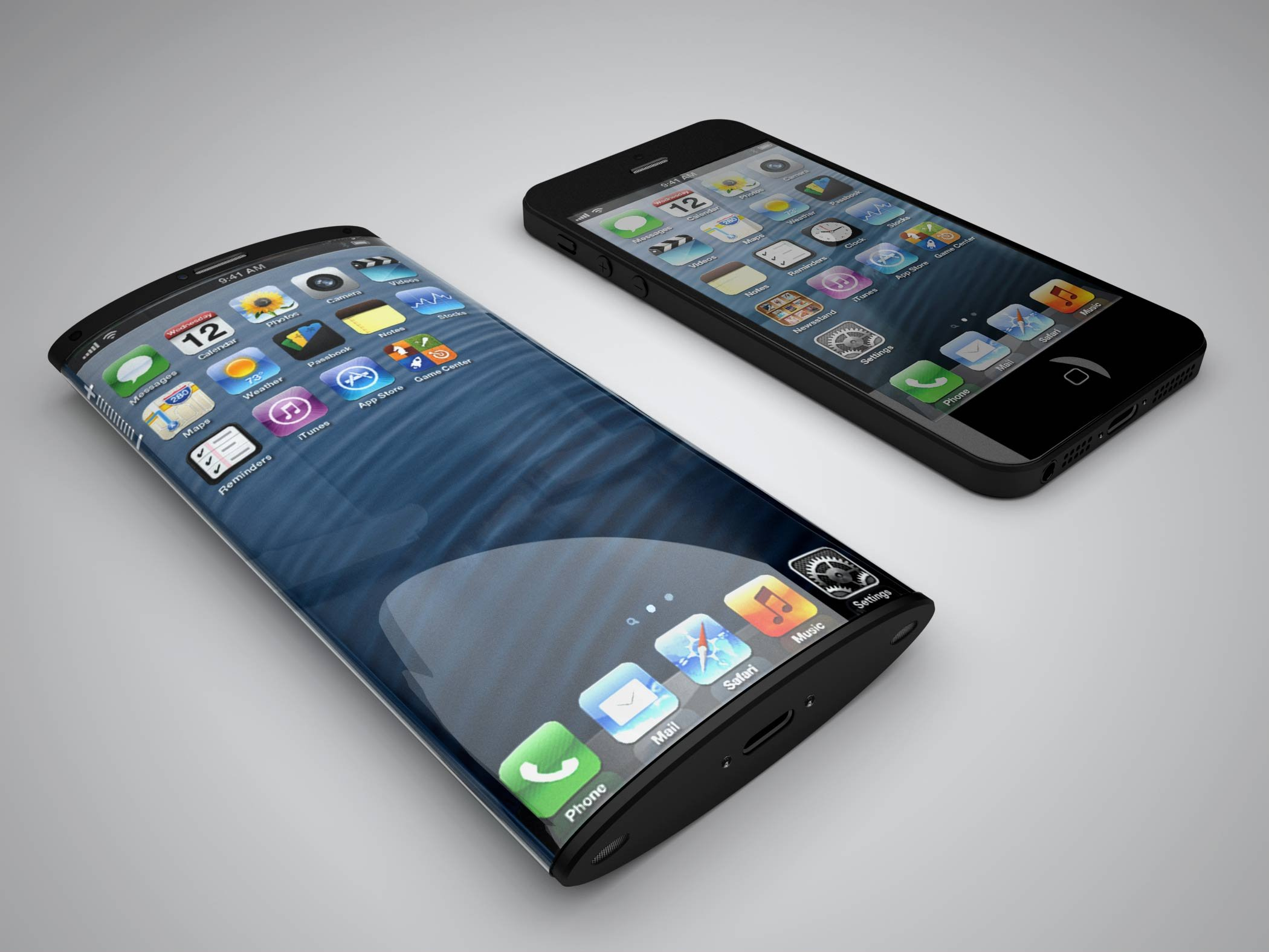 Curved IPhone 6 Render