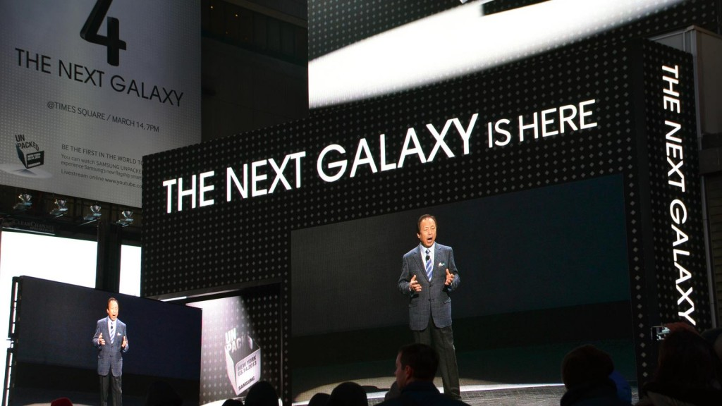 Samsung Galaxy S5 Scheduled For April Release