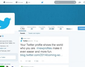 Twitter To Roll Out New Profile Layout Soon