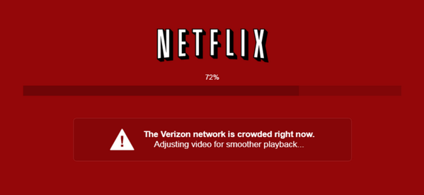Netflix calls Verizon out