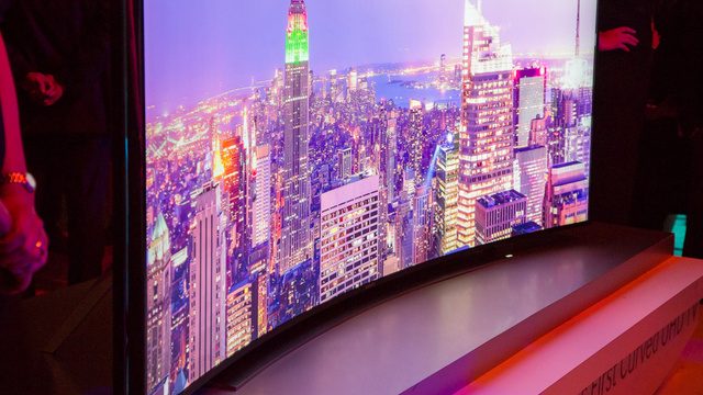 "You Can Preorder Samsung's Curved 105"" Ultra HDTV...If You Have $120,000"
