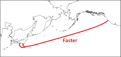 Google and Five Other Companies Put Up $300 Million For Trans-Pacific Cable Project FASTER