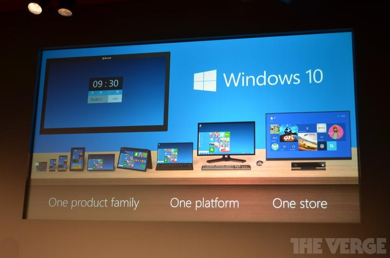 Microsoft Announces Windows 10, Due Out Late Next Year