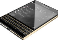 Limited Edition Black and Gold BlackBerry Passport Announced