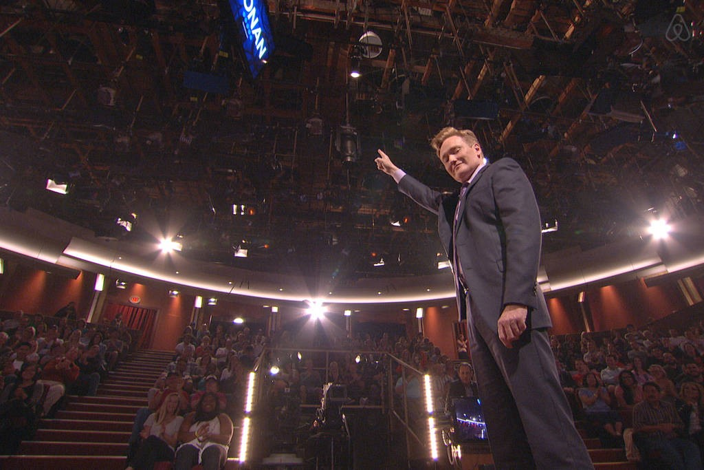 "AirBnB and Conan O'Brien Teaming Up For ""Night At Conan"" Promotion"