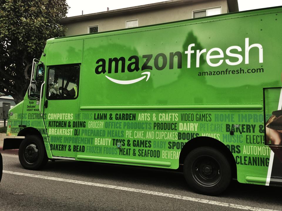 Amazon Is Expanding Further Into Food Services