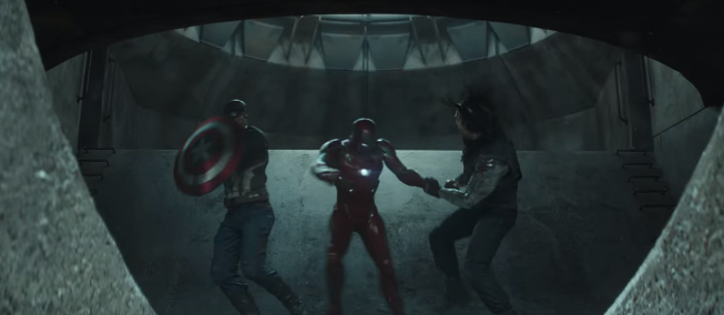 Captain America: Civil War's First Trailer Dropped