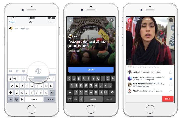 Facebook Allows Live Streaming For Verified Pages