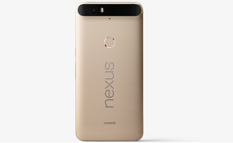 The Gold Nexus 6P Is Available In 32GB and 64GB
