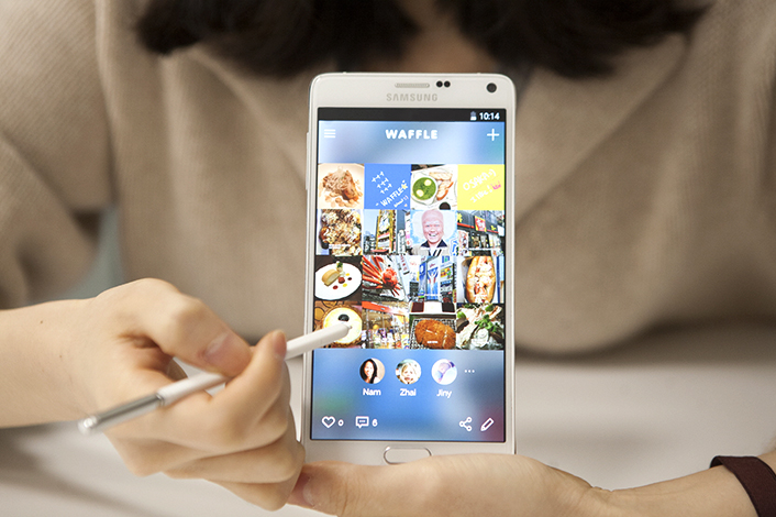 Samsung Is Beta Testing Social Network Waffle