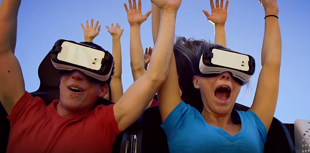 Samsung and Six Flags Team Up For Roller Coaster-VR Rides