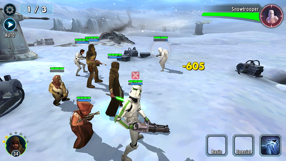 Review: Star Wars: Galaxy of Heroes
