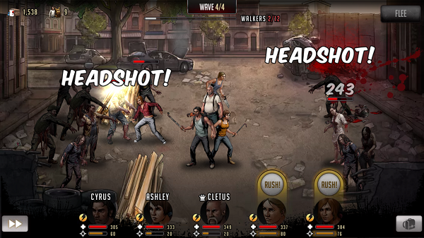 Review: Walking Dead: Road to Survival