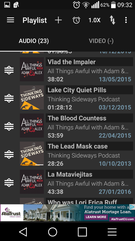 Review: Podcast Addict