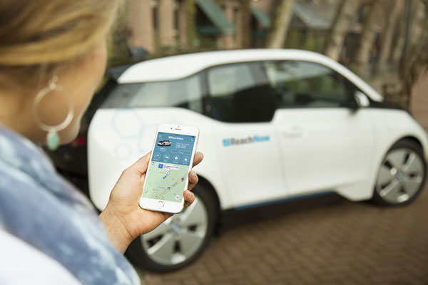 BMW Launches Car Sharing Service In Seattle