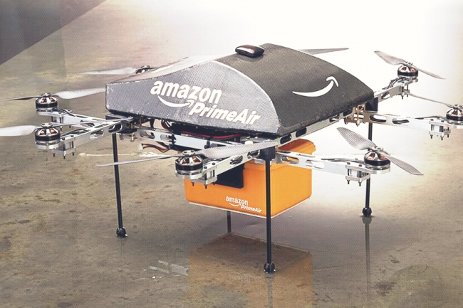 Amazon To Test Prime Air Drones In UK