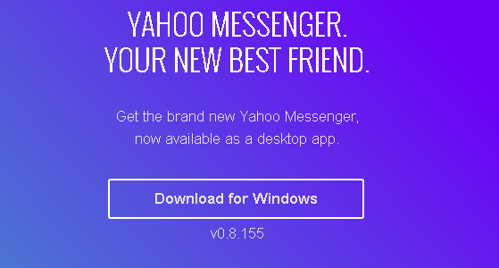 Yahoo Releases New Messenger For Windows