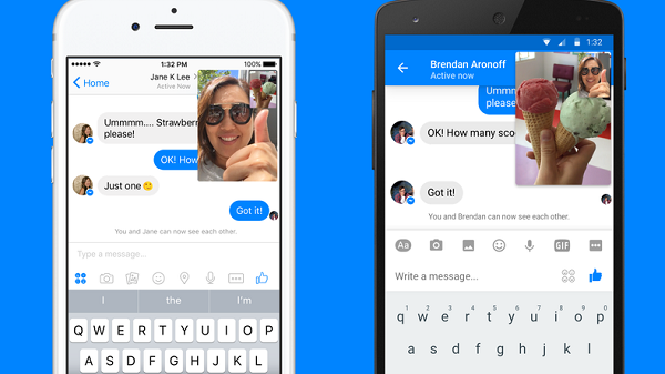 Live Video Comes To Facebook Messenger