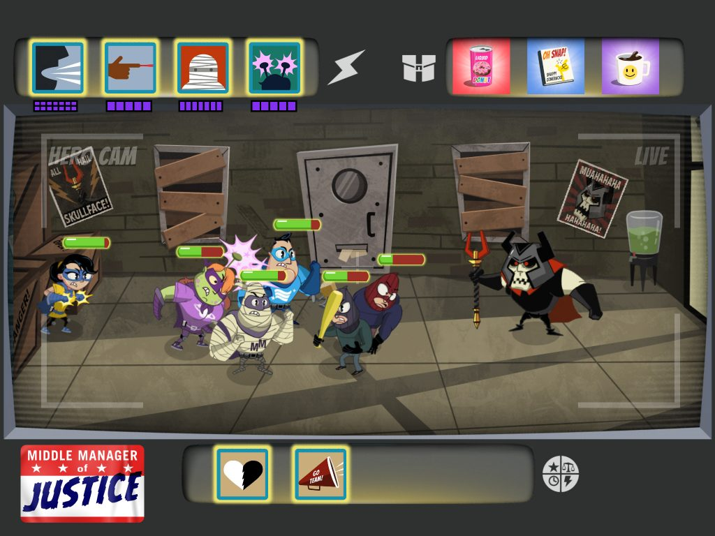 Review: Middle Manager of Justice