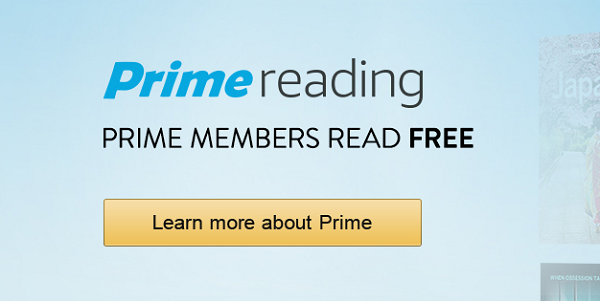 Amazon Announces Prime Reading