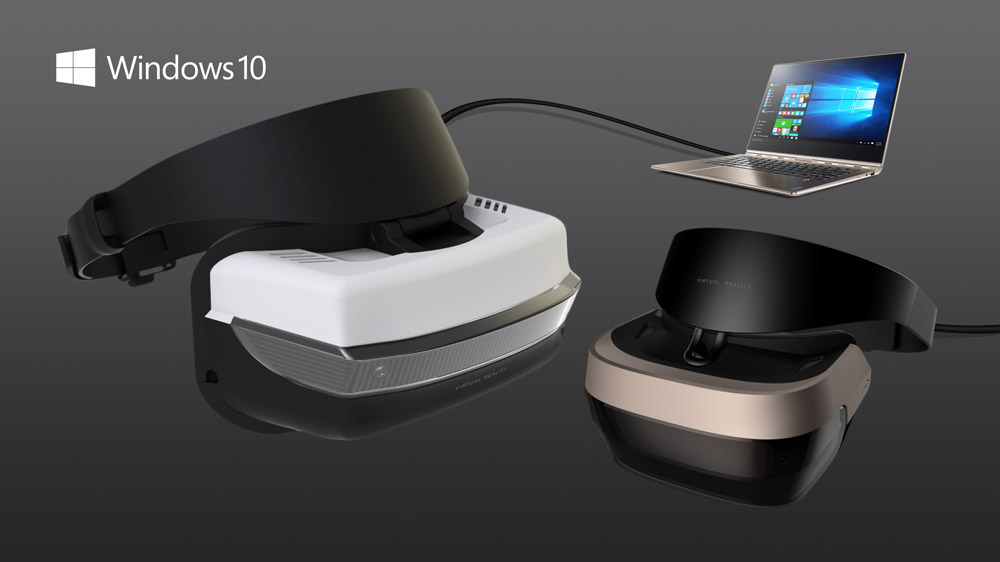 Microsoft Announces Line Up of VR Headsets From Several Hardware Partners