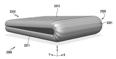 Samsung Has A Patent On A Bendable Phone