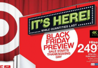 Target Reveals Its Black Friday Deals