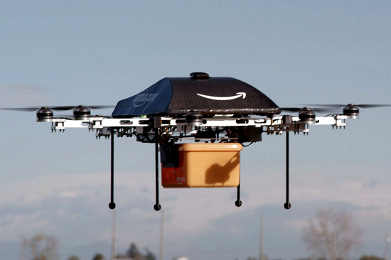Amazon's Delivery Drone Plans Could Include Aerial Warehouses