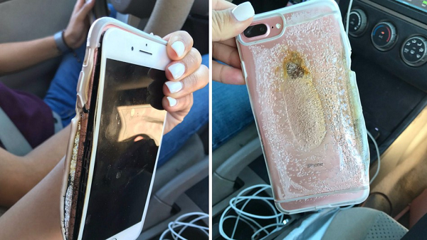 Apple Investigates Exploding Arizona iPhone 7