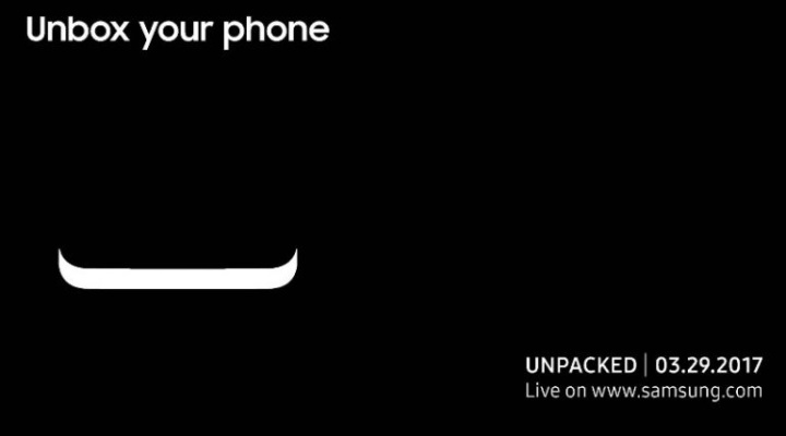 Galaxy S8 Will Be On Display At Samsung Unpacked Tomorrow
