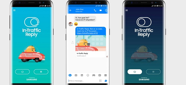 Samsung's In-Traffic Reply App Currently In Beta