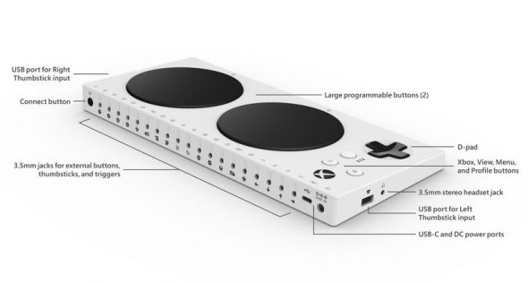 Behold Microsoft's Xbox One Adaptive Controller