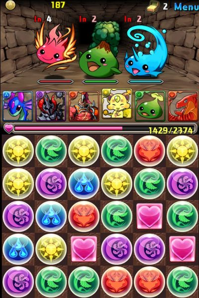 Review: Puzzle and Dragons