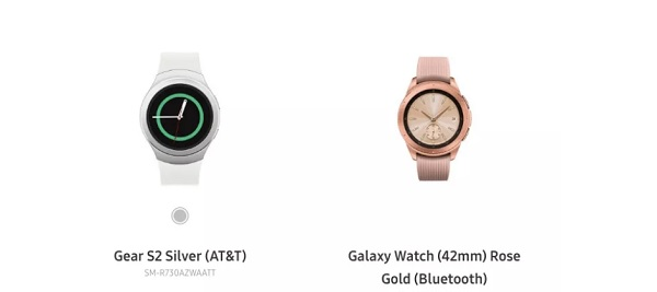 Samsung Accidentally Posts Galaxy Watch (And Removed It)