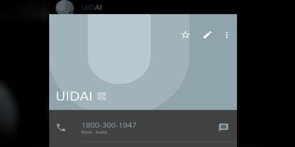 Google Comes Clean On UIDAI Number In Indian Android Contacts Lists